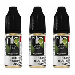 NIC AMMO 18mg Nicotine Shot